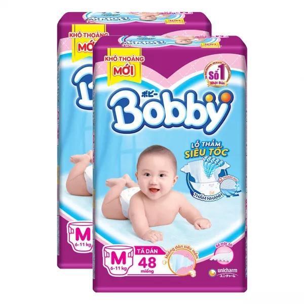 Ta quan Bobby Fresh M 6 10kg 60 mieng