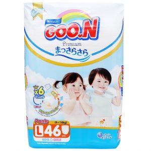 Tã quần Goon Premium size L 46 miếng (9-14kg)