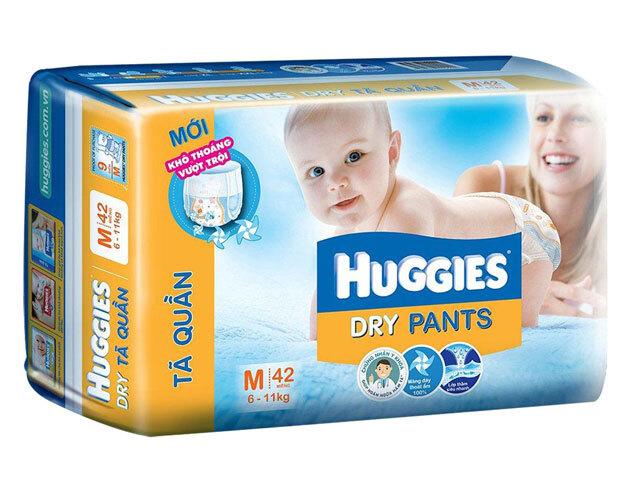 Ta quan Huggies size M42 mieng tre tu 6