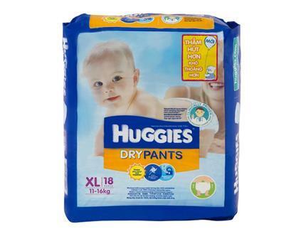 Ta quan Huggies size XL 18 mieng tre tu 12