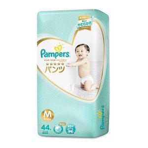 Tã quần Pampers Nhật Bản new (M, 6-11kg, 44 miếng)