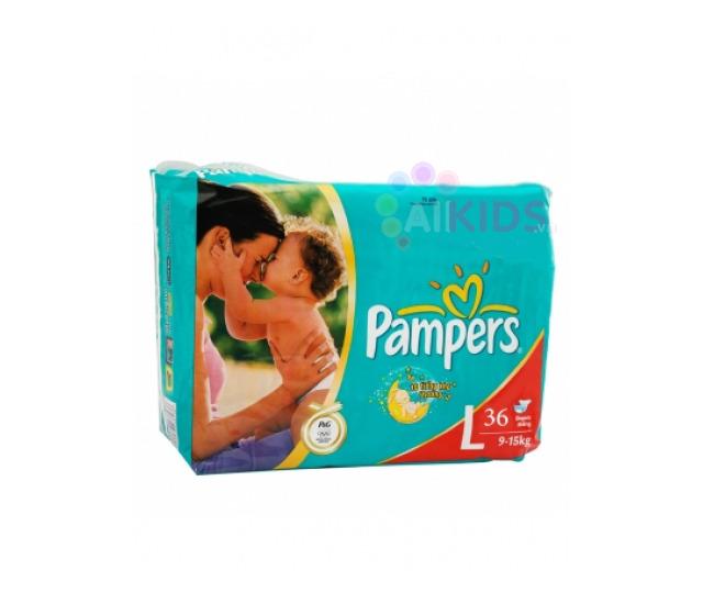 Ta quan Pampers size L36 mieng tre tu 9